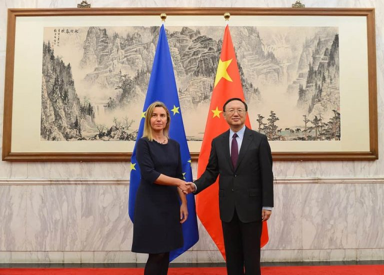 Federica-Mogherini China Visit 2017