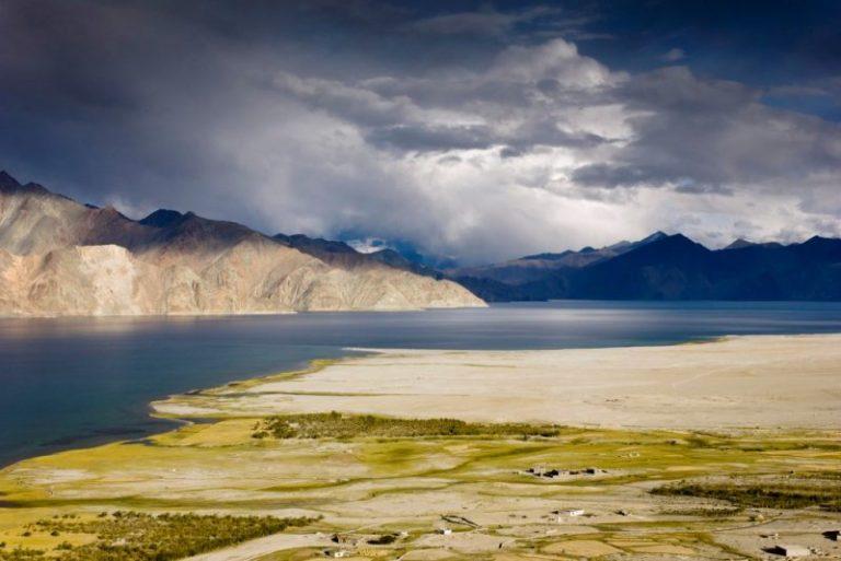 Pangong Lake between India and China