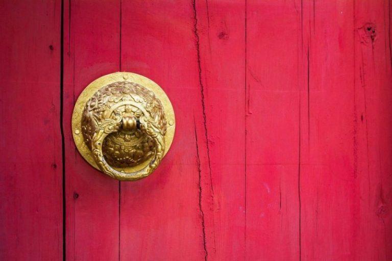 Door in China