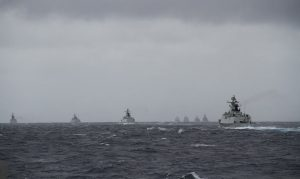 Chinese naval exercise