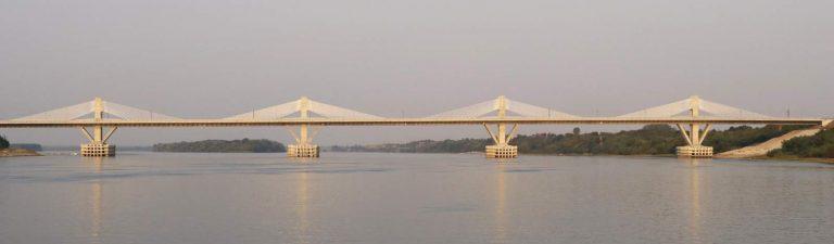 New Europe Bridge Romania Bulgaria