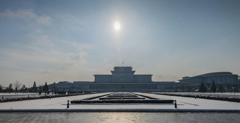 The Sun over Kumsusan Palace