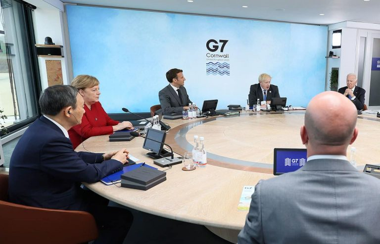G7 leaders meeting